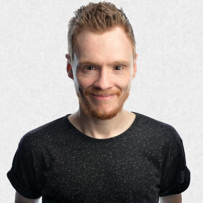 Comedian Andrew Lawrence