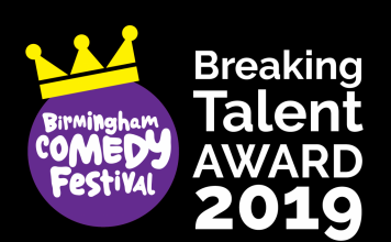 Birmingham Comedy Festival Breaking Talent Award 2019