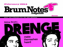 Brum Notes Magazine February 2014 cover