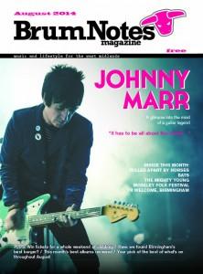 Brum Notes Magazine August 2014 Cover