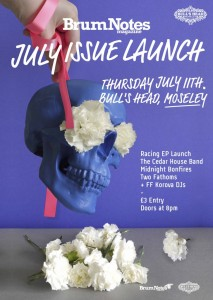 Brum Notes July Issue Launch Party