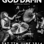 God Damn at the Slade Rooms, Wolverhampton - poster