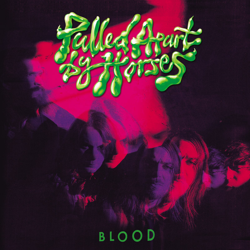 Pulled Apart by Horses - Blood album cover