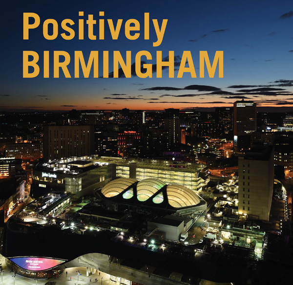 Postitively Birmingham book cover