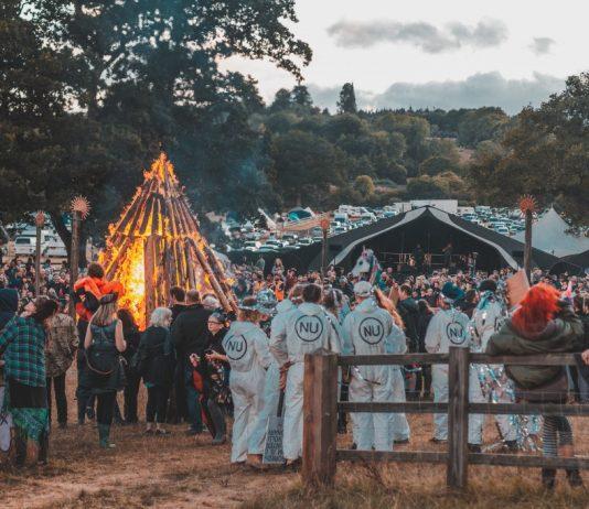 Lunar Festival procession on Sunday 29 July 2018. Image: Rob Hadley