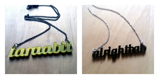 Working Clasp alrightbab and taraabit necklaces
