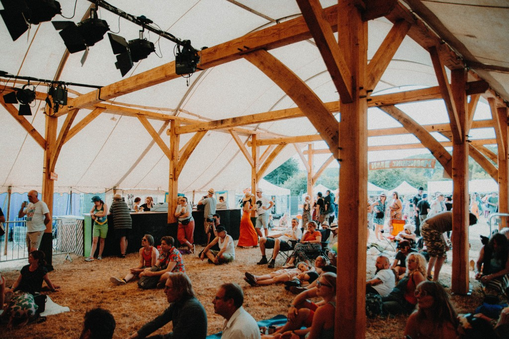 The Moonshine Barn at Lunar Festival 2018. Image: Louis Coupe