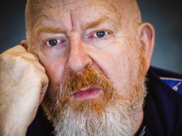 Record boss Alan McGee, who visits The Glee Club