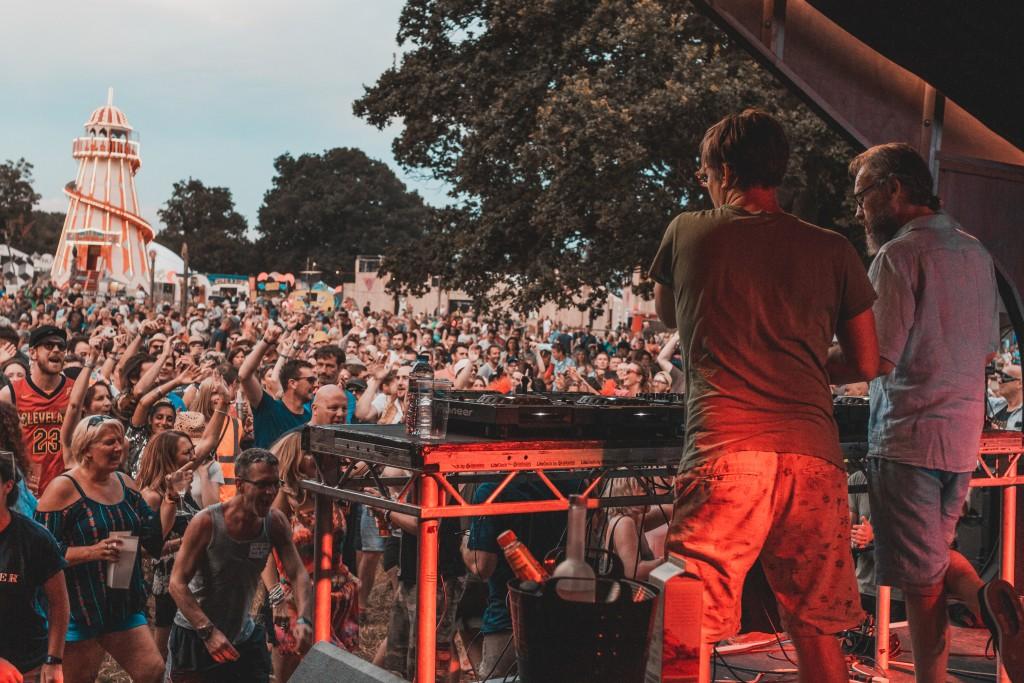 Basement Jaxx DJ set at Lunar Festival 2018. Image: Rob Hadley