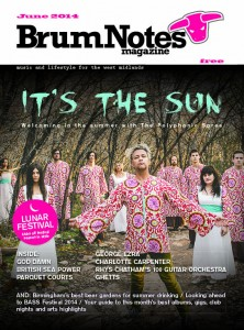 Brum Notes Magazine June 2014 cover featuring The Polyphonic Spree