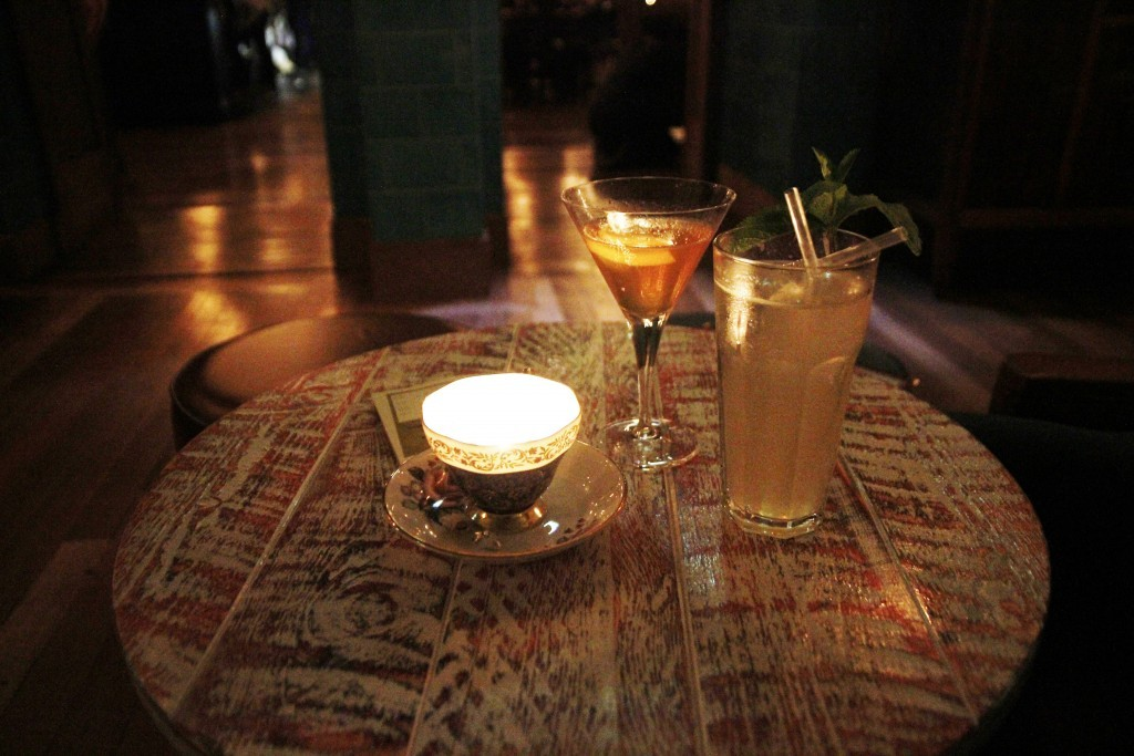 Cocktails at the Cosy Club
