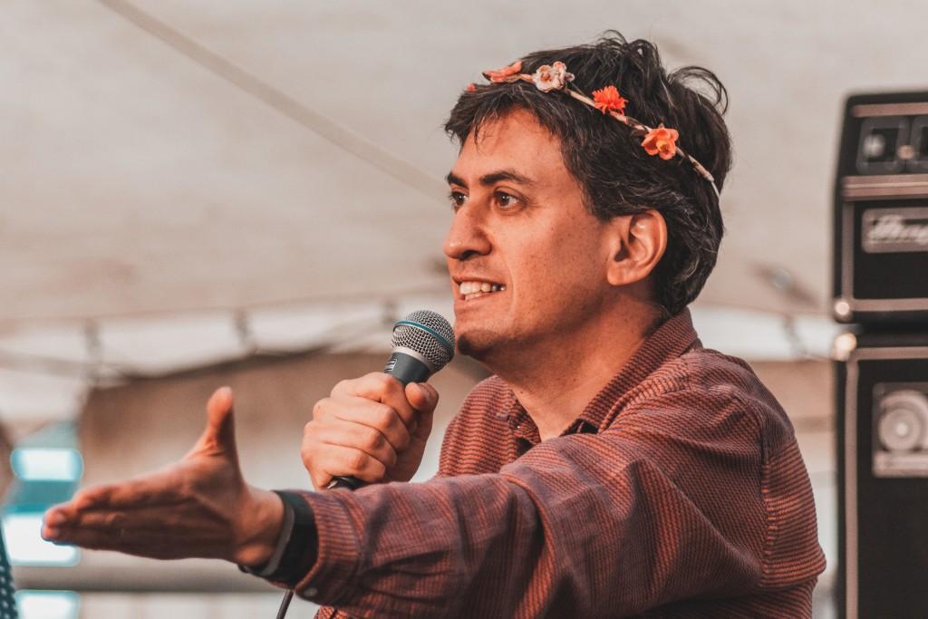 Ed Milliband at Lunar Festival 2018. Image: Rob Hadley