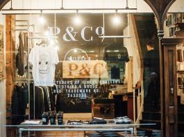 P & Co clothing store Birmingham