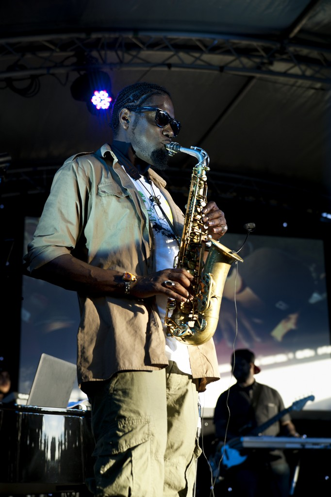 Soweto Kinch - The Flyover Show 2012