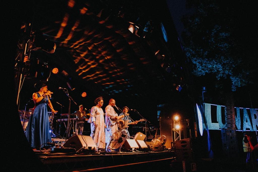 Amadou & Mariam live at Lunar Festival 2018. Image: Louis Coupe