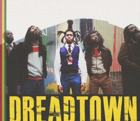Poster for Dreadtown, a documentary film about reggae band Steel Pulse