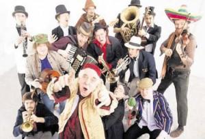 Birmingham folk band The Destroyers